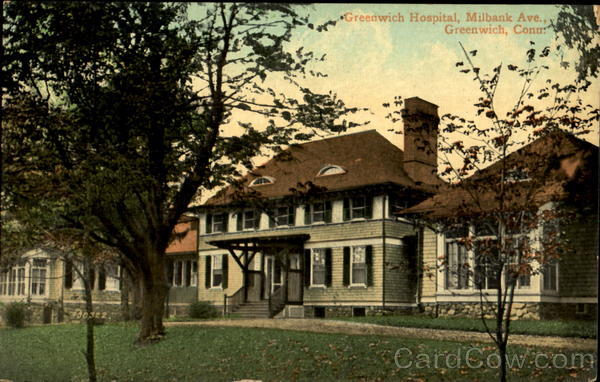 Greenwich Hospital, Milbank Ave. Connecticut