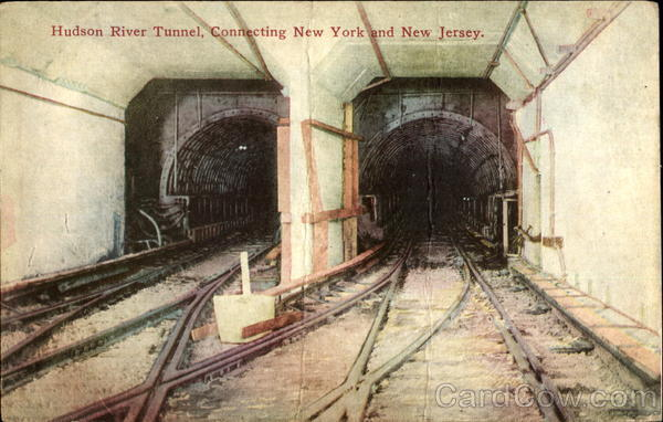 Hudson River Tunnel New York City Subways