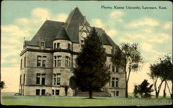 Physics, Kansas State University Lawrence