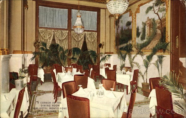 A Corner In The Dining Room New Hotel Monteleone New Orleans Louisiana