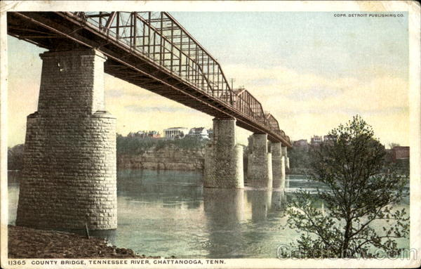 County Bridge Chattanooga Tennessee