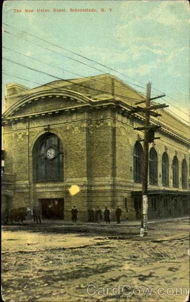 The New Union Depot Schenectady New York
