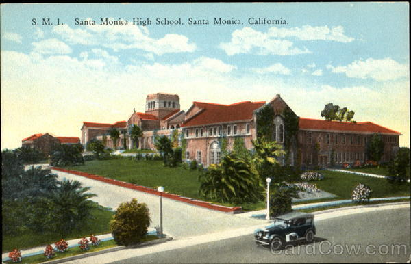 S. M. I. Santa Monica High School California