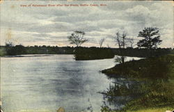 View Of Kalamazoo River After The Storm