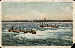 Shooting The Rapids, Sault Ste