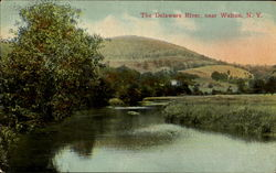 The Delaware River Postcard