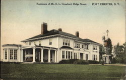 Residence Of Mr. E. L. Crawford Ridge Street