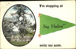 I'm Stopping At Sag Harbor