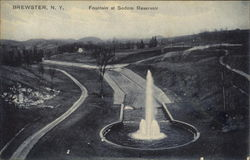 Fountain At Sodom Reservoir
