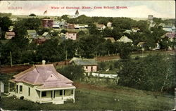 View Of Corning From School House