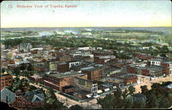 Bird's Eye View Of Topeka