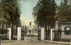 Entrance To Mt. Olivet Cemetery