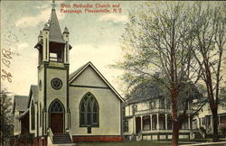 West Methodist Church And Parsonage