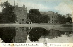 Lake And School Buildings O. S. & S. O. Home