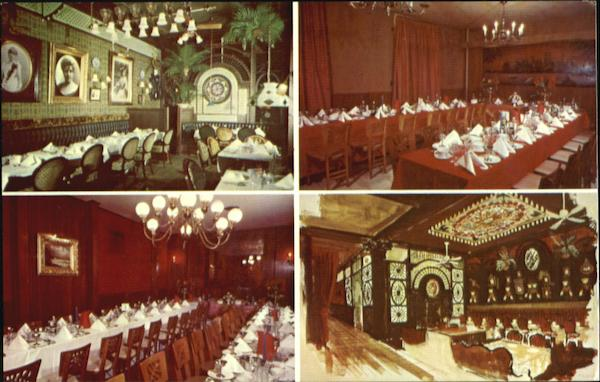 Rosoff's 1899 Theatre Restaurant, 43rd Street Just East of Broadway New York City