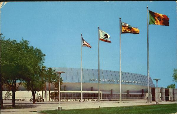 Los Angeles Memorial Sports Arena California