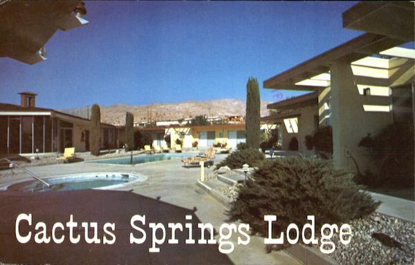 Cactus Springs Lodge, 68075 Club Cirlce Drive Desert Hot Springs California