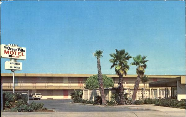 Ocean Villa Motel, 5142 W. Point Loma Blvd. San Diego California