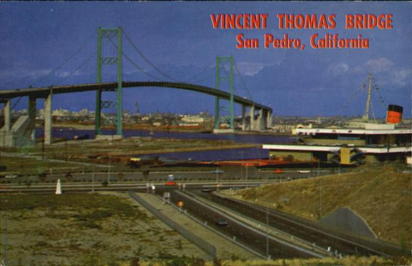 Vincent Thomas Bridge San Pedro California