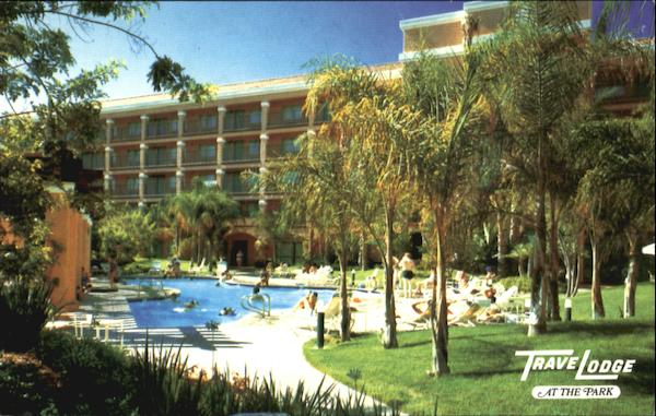 Travelodge At The Park, 121 S. Harbor Blvd. Anaheim California