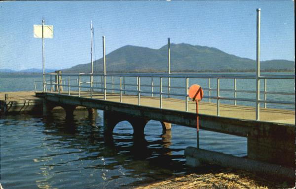 City Pier, Library park Lakeport California
