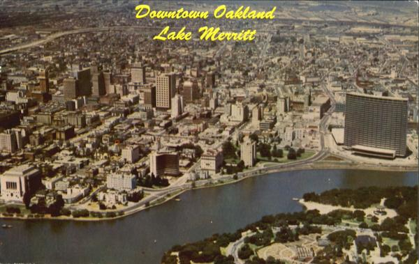 Aerial View Of Oakland California