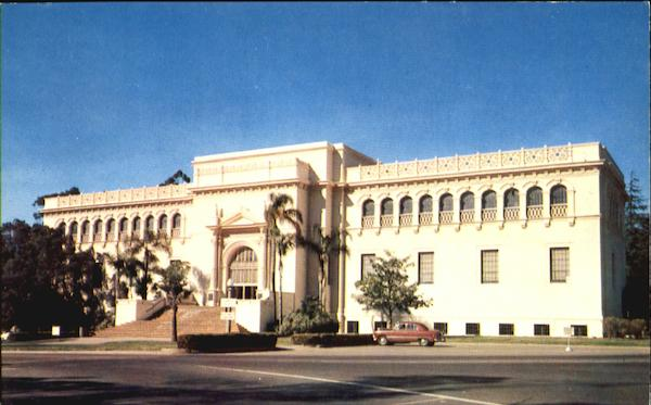 The Museum Of Natural History, Balboa Park San Diego California