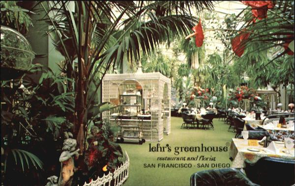 Lehr's Greenhouse, 740 Sutter Street San Francisco California