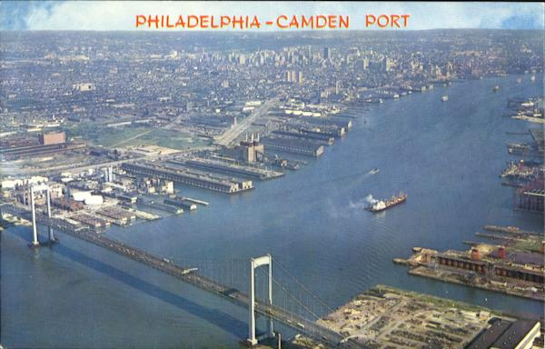 Philadelphia Camden Port Pennsylvania