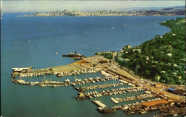 Air View Of Sausalito California
