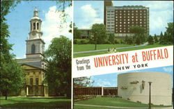 Greetings From The University At Buffalo Postcard