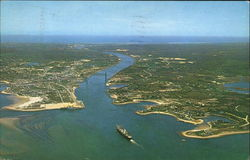Air View Of Cape Cod Canal