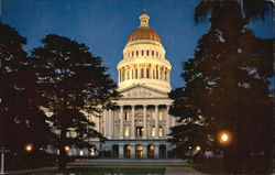 State Capitol At Night