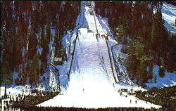 The Famous Squaw Valley Ski Jump