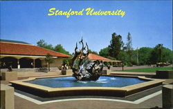 Fountain In White Memorial Plaza, Stanford University