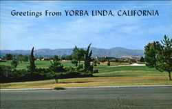 Greetings From Yorba Linda