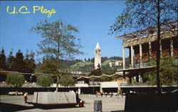 Student Union Plaza, University of California