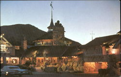 Madonna Inn By Night, Highway 101 and Madonna Road