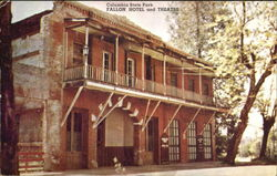 Fallon Hotel And Theatre, Columbia State park