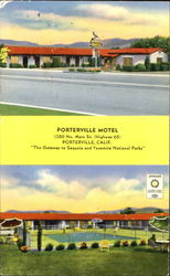 Porterville Motel, 1350 No. Main St.