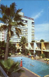 The Lafayette Hotel And Lanais Postcard