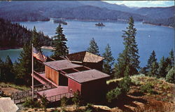 Trinity Lake Visitors Center, Trinity County