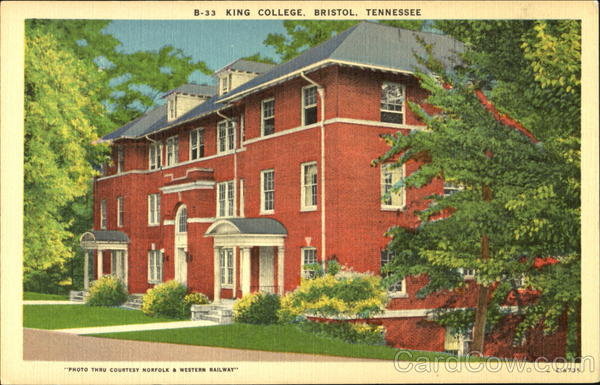King College Bristol Tennessee