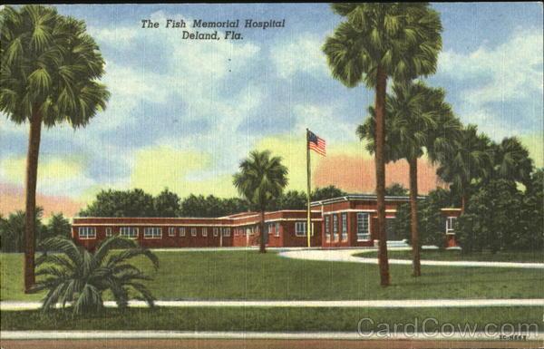 The fish memorial hospital deland fl for Fish memorial hospital