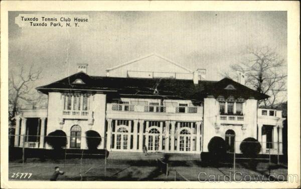 Tuxedo tennis club house tuxedo park ny for Tuxedo house