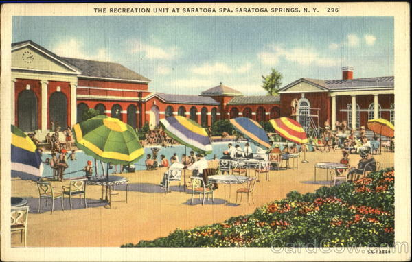 The Recreation Unit At Saratoga Spa Saratoga Springs New York