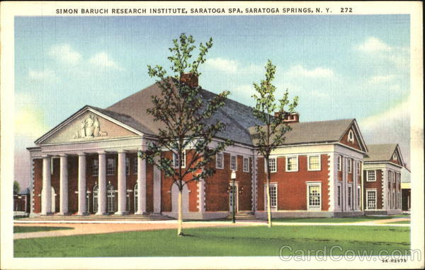 Simon Baruch Research Institute, Saratoga Spa Saratoga Springs New York