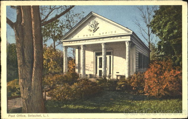 Post Office, Long Island Setauket New York