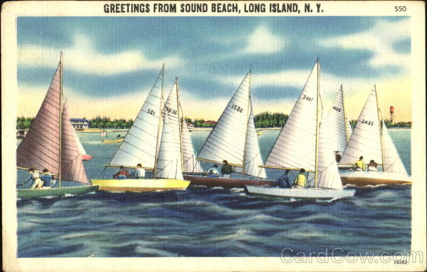 Greetings From Sound Beach, Long Island New York
