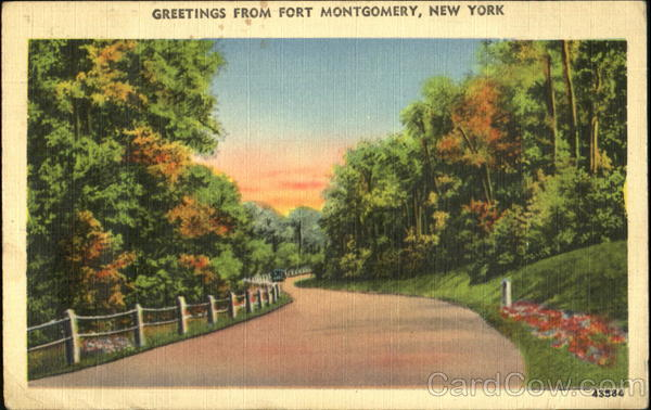 Greetings From Fort Montgomery New York